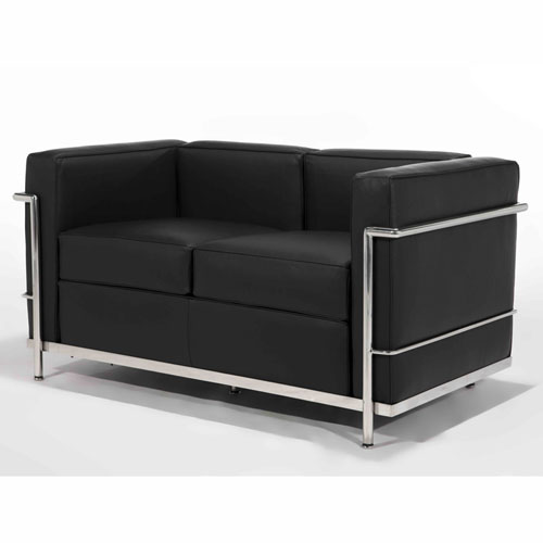 Le Corbusier LC2 2 Seater Sofa