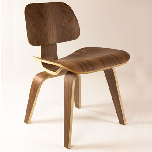 Replica plywood dining chair by Eames