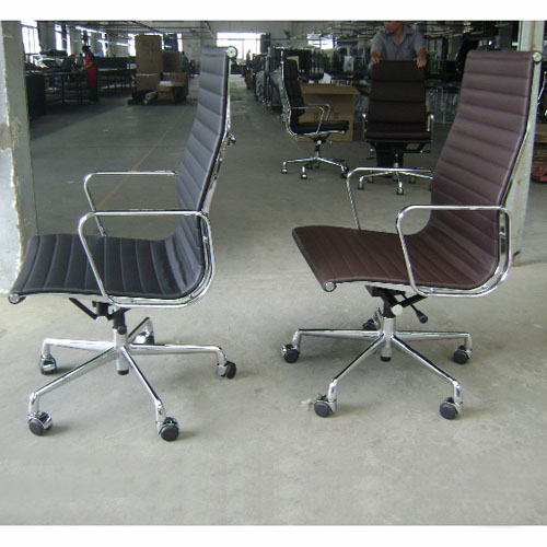 Eames style aluminum office chair